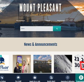Mount Pleasant Website