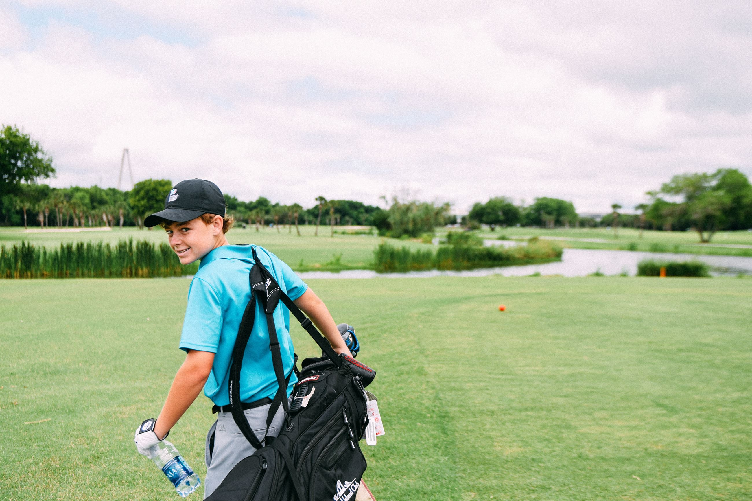 Junior Open Golf
