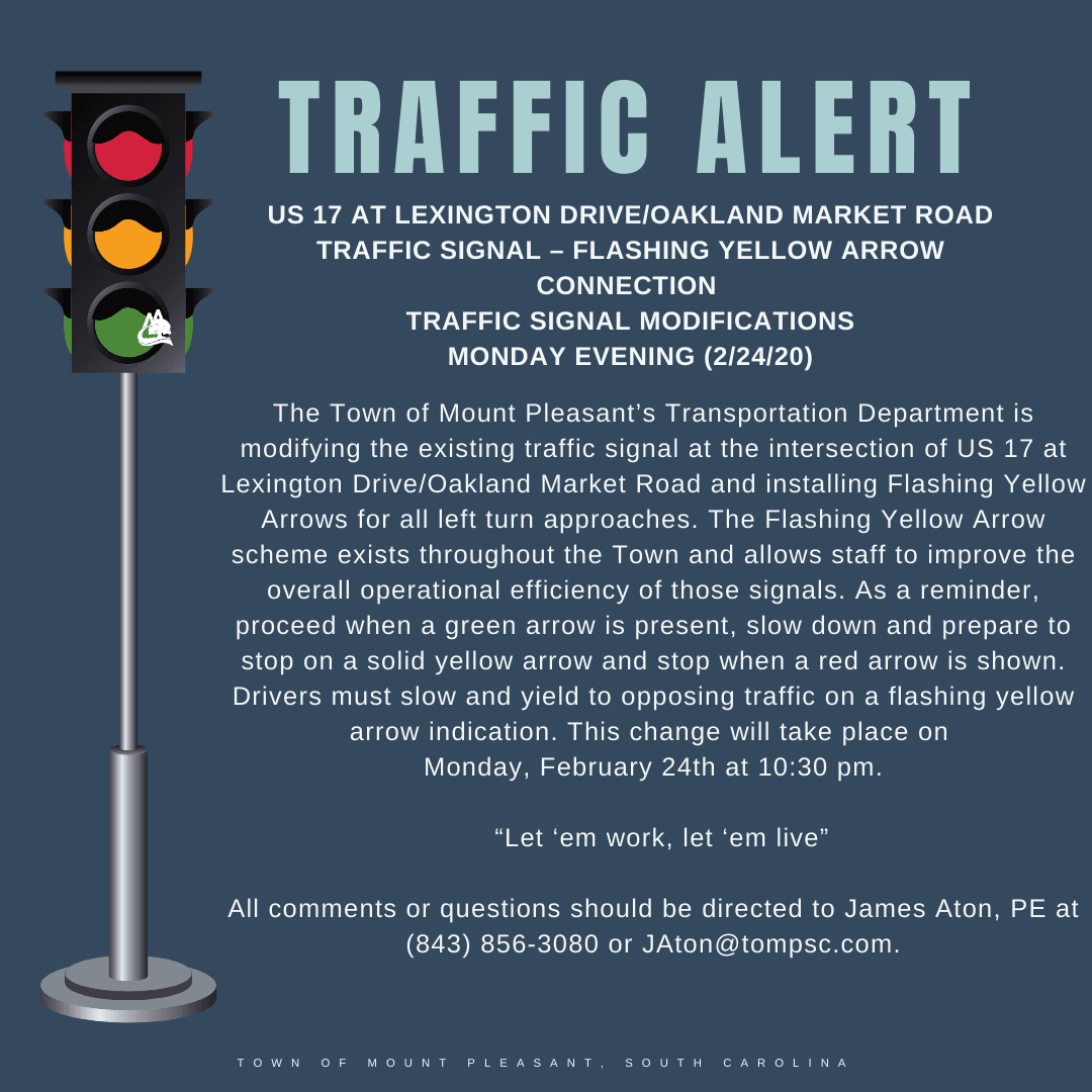 US 17_ Lexington-Oakland Traffic Alert
