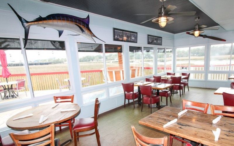 Shem Creek Crab House Press Release Sun Room