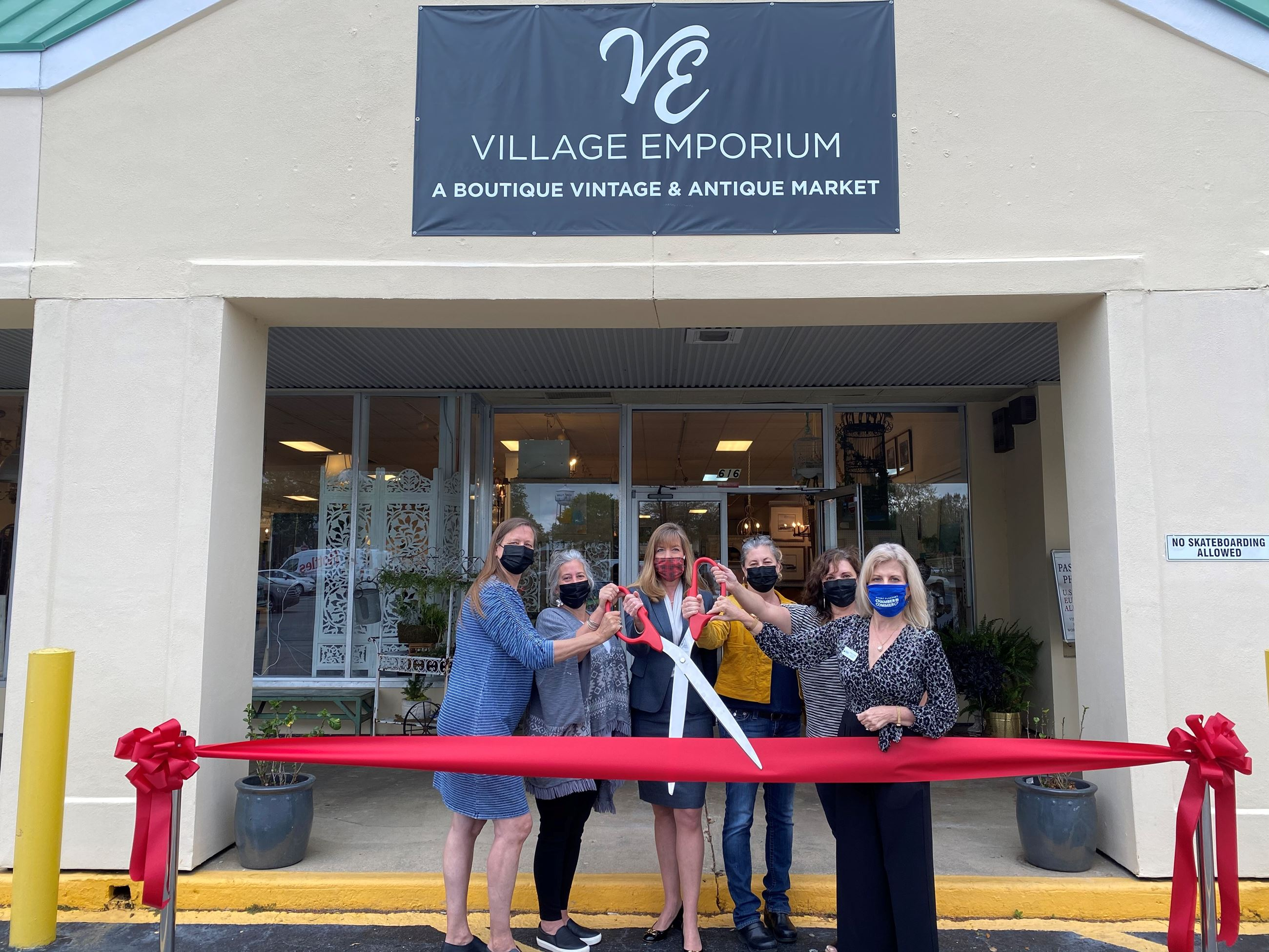 Village Emporium Ribbon Cutting 1