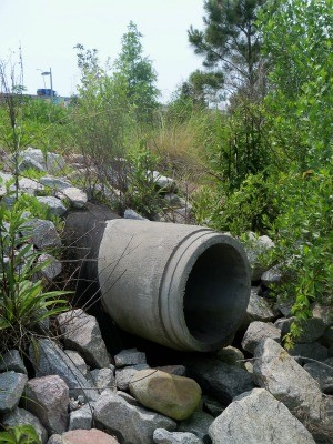Stormwater outfall.