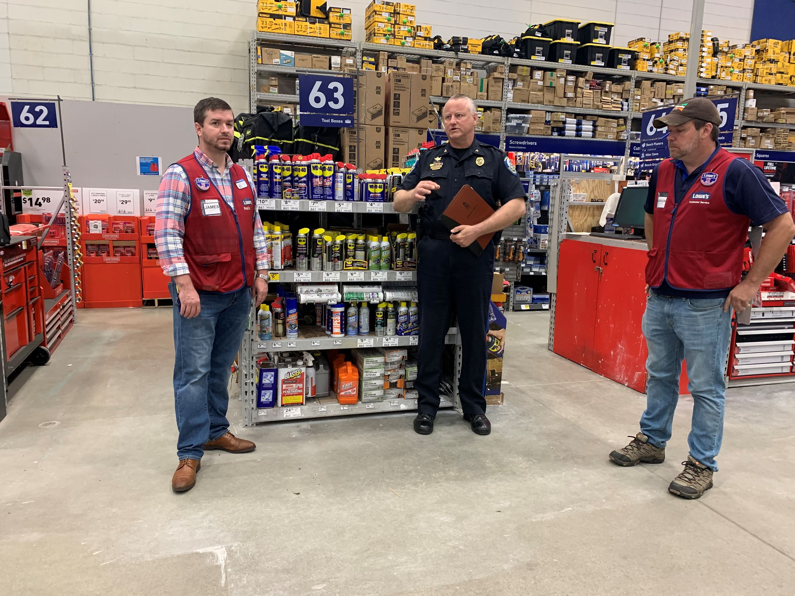 Chief at Lowes