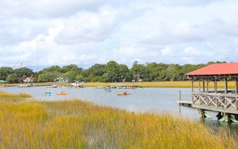 Shem Creek Crab House Press Release View