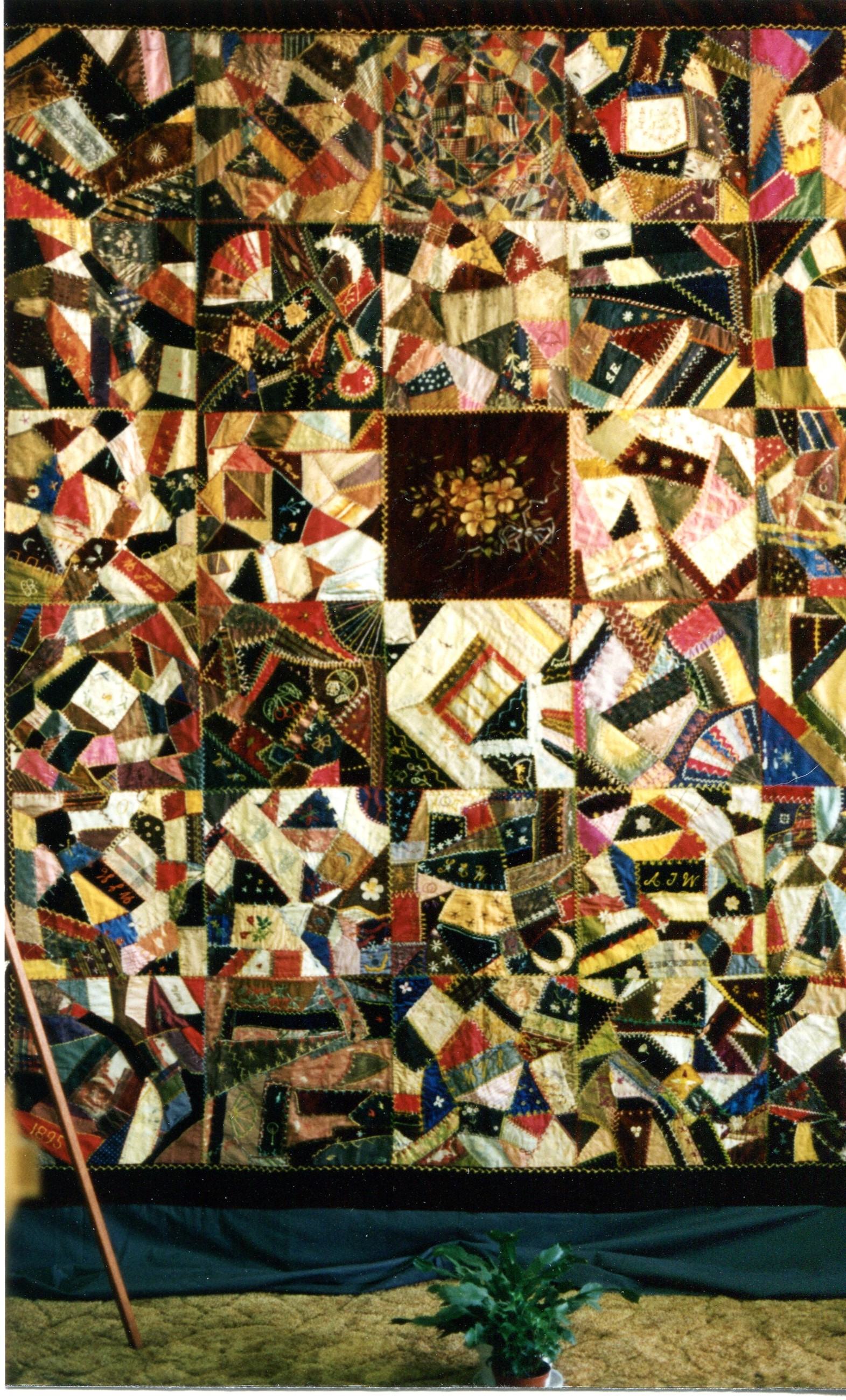 Dr. Dupre's Quilt, 1895